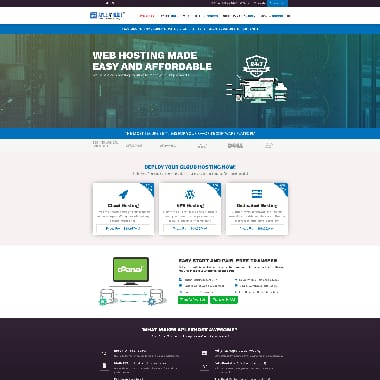 AplexHost HomePage Screenshot