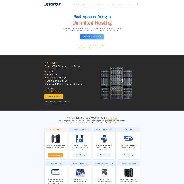 Jetorbit HomePage Screenshot